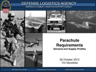 Parachute Requirements Demand and Supply Profiles