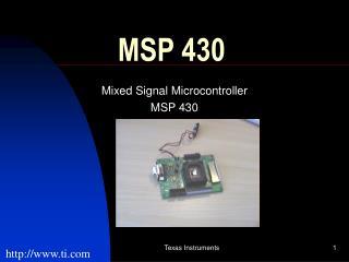 MSP 430