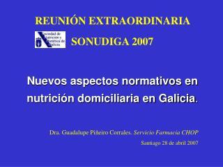 REUNI N EXTRAORDINARIA  SONUDIGA 2007