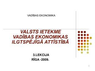 VADIBAS EKONOMIKA