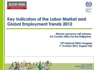 Key Indicators of the Labor Market and Global Employment Trends 2012