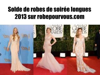 Solde de robes de soirée longues 2013 sur robepourvous.com