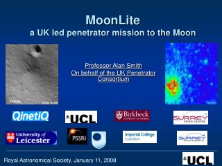 MoonLite   a UK led penetrator mission to the Moon