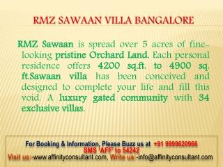 RMZ Sawaan Project @9999620966 Buy!!!