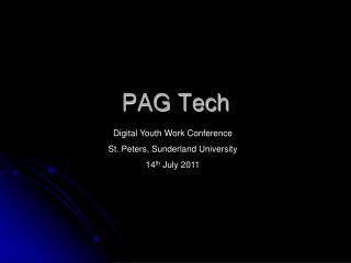 PAG Tech