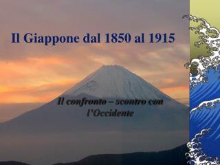 Il Giappone dal 1850 al 1915