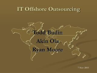IT Offshore Outsourcing