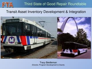 Transit Asset Inventory Development  Integration