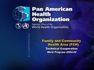 Vision of the Pan American Sanitary Bureau