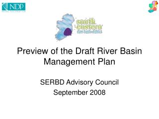 Preview of the Draft River Basin Management Plan