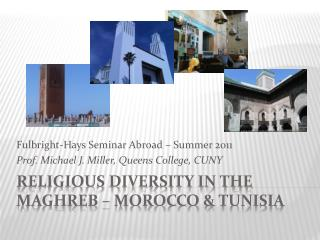 Religious Diversity in the Maghreb   Morocco  tunisia