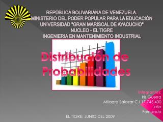 REP BLICA BOLIVARIANA DE VENEZUELA. MINISTERIO DEL PODER POPULAR PARA LA EDUCACI N UNIVERSIDAD GRAN MARISCAL DE AYACUCHO