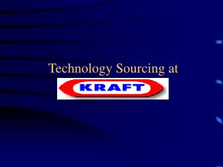 Technology Sourcing at