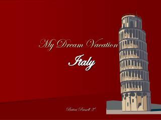 ItalyBritni Russell 3rd