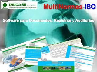 Software para Documentos, Registros y Auditorias