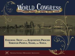 Breakout Session  1410 Gregg Mossburg, Vice President, CGI Phil McKinney, Philip L. McKinney, LLC  April 16, 2008 1:30-2