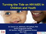 Turning the Tide on HIV