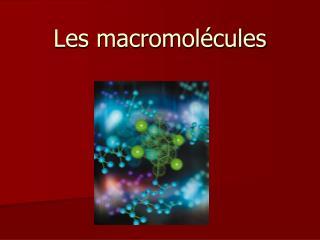 Les macromol cules