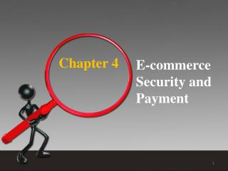 E-commerce Security and Payment