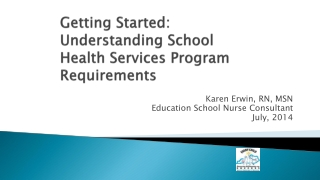 IMPLEMENTING A HEALTH PROMOTING SCHOOLS MODEL IN EDUCATION AT DISTRICT LEVEL