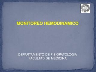 DEPARTAMENTO DE FISIOPATOLOGIA FACULTAD DE MEDICINA