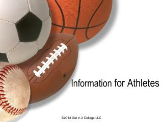 Information for Athletes