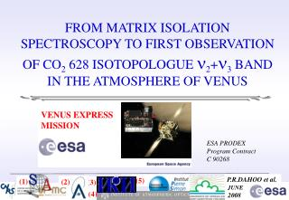 FROM MATRIX ISOLATION SPECTROSCOPY TO FIRST OBSERVATION OF CO2 628 ISOTOPOLOGUE 23 BAND IN THE ATMOSPHERE OF VENUS