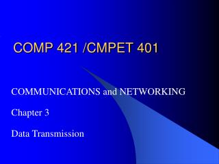 COMP 421