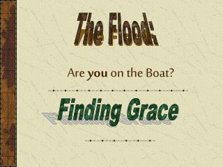 Are you on the Boat