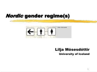 Nordic gender regimes