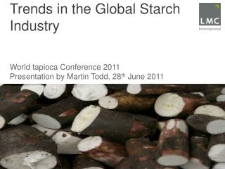 Trends in the Global Starch Industry