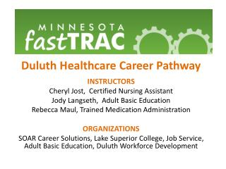 Duluth Healthcare Career Pathway