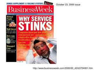 October 23, 2000 issue