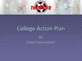 College Action Plan