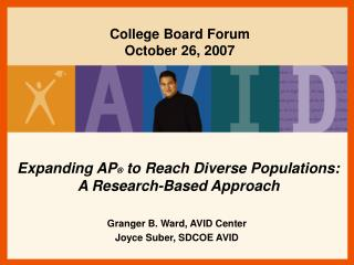 Expanding AP  to Reach Diverse Populations:  A Research-Based Approach