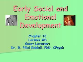 Early Social and Emotional Development