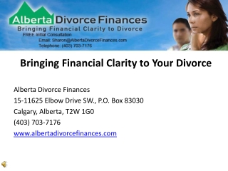 Alberta Divorce Mediator