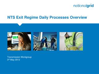 NTS Exit Regime Daily Processes Overview