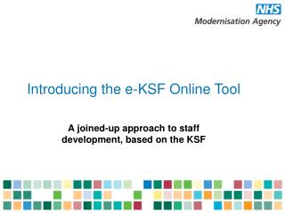 Introducing the e-KSF Online Tool