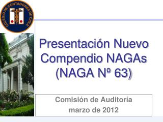 Presentaci n Nuevo Compendio NAGAs  NAGA N  63