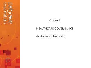 HEALTHCARE GOVERNANCE