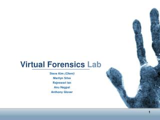 Virtual Forensics Lab