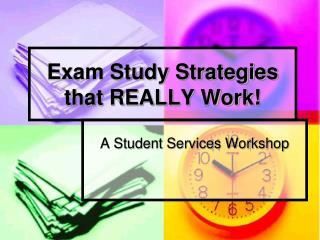 Exam Study Strategies that REALLY Work