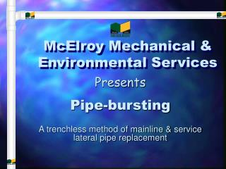 McElroy Mechanical  Environmental Services