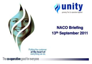 NACO Briefing 13th September 2011