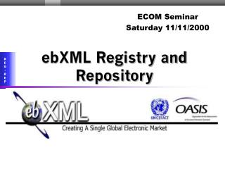 EbXML Registry and Repository