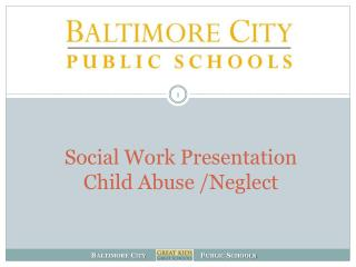 Social Work Presentation Child Abuse