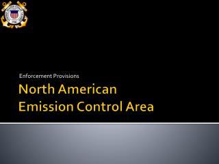 North American  Emission Control Area