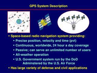 GPS System Description