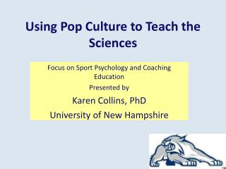 Using Pop Culture to Teach the Sciences